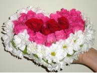 Игрушки из цветов