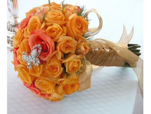 Букет невесты из  25 роз