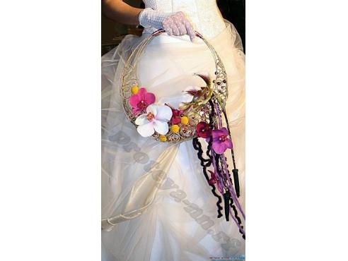 Креативная сумочка ручной работы с цветами