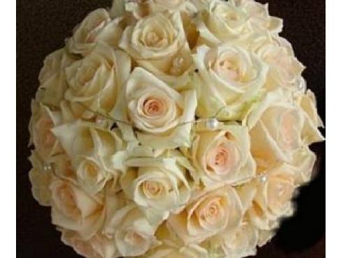 Букет невесты из 27 роз