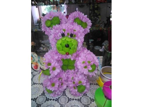 Розовый медвеженок