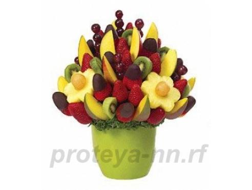 Десертный фруктовый букет
