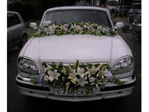 Комплект свадебных украшений на авто