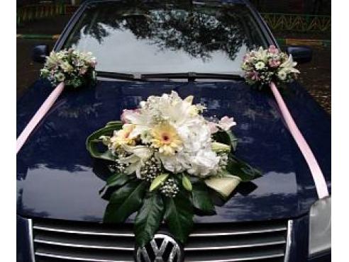 Свадебный комплект на капот авто